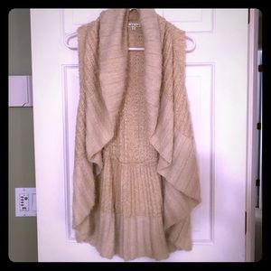 Soft cozy Vest great for layering
